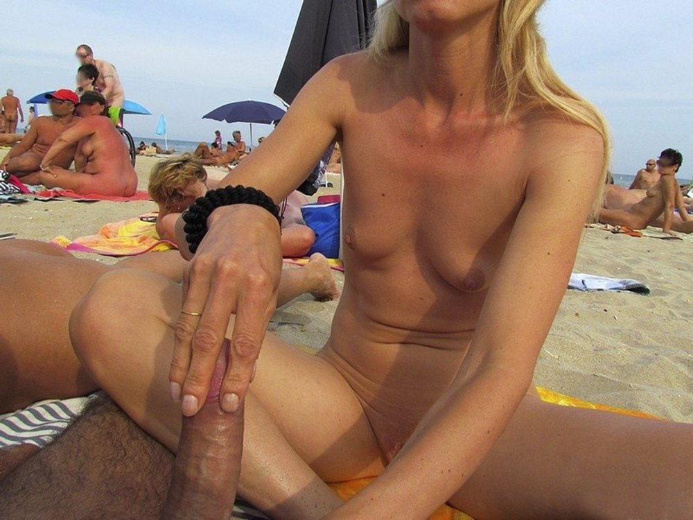 With hot beach blow jobs are right