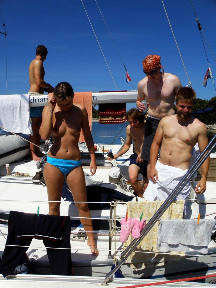 Consider, Naked boaters caought on camera