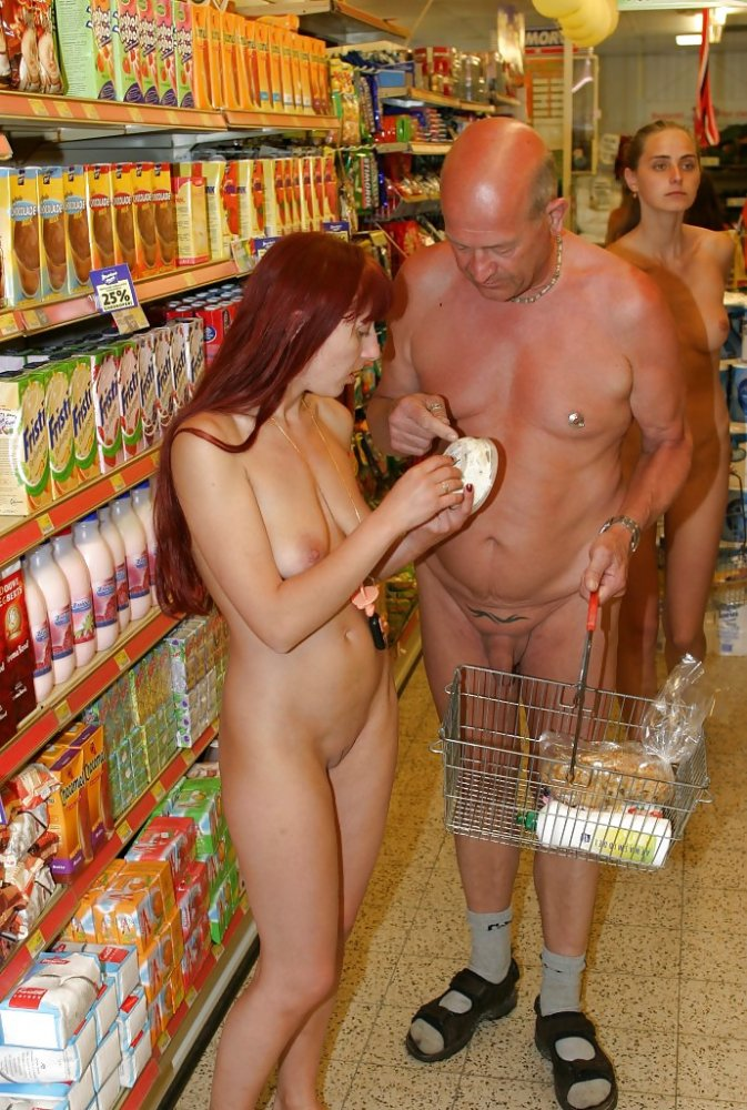 Pics nude shopping that interrupt