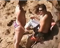 Public Beach Blowjob
